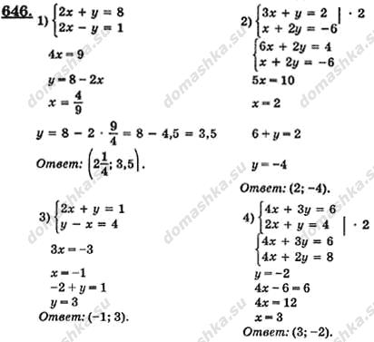 Гдз №501 по алгебре, алгебра 7 класс. Алимов ш. А. Готовое.