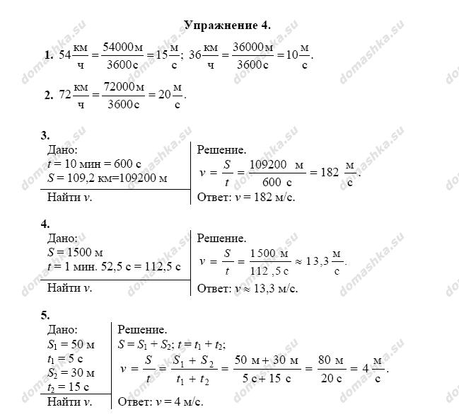 гдз по физике первшкин