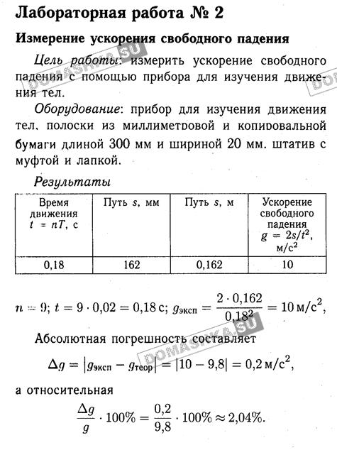 Информатика 9 класс лабораторная работа 1 ГДЗ