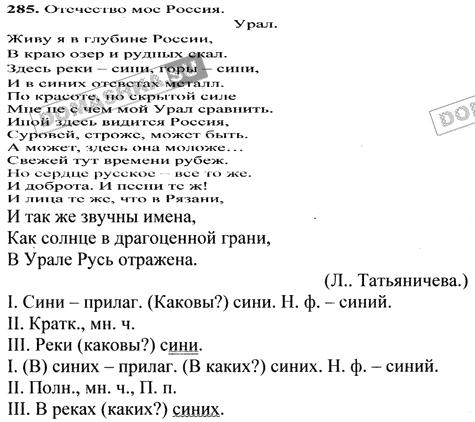 Русский 6 ладыженская гдз класс баранова м.т