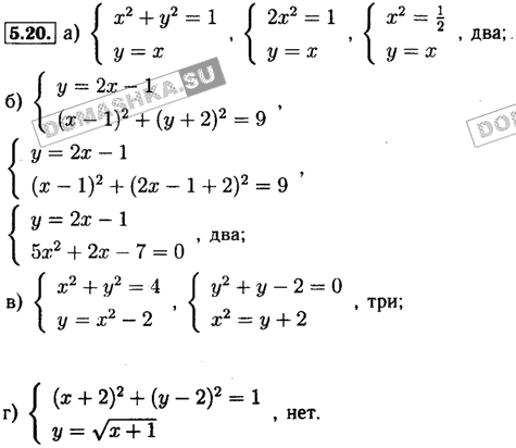 задачник решением класс алгебра часть 9 с мордкович гдз 2