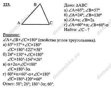 Из чего состоят решебники по геометрии