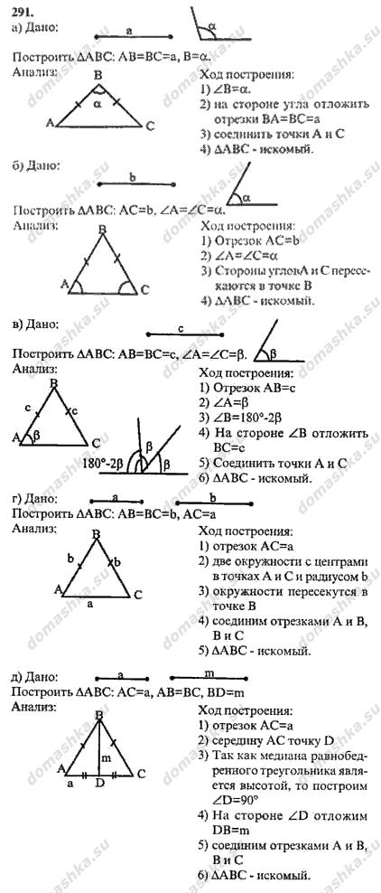 Гдз по геометрии класс бутузов