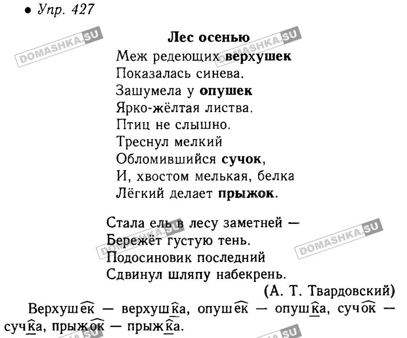 Сайт гдз по русскому 5 ладыженская