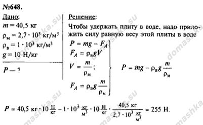 гдз по физике задачник 7-9 лукашик
