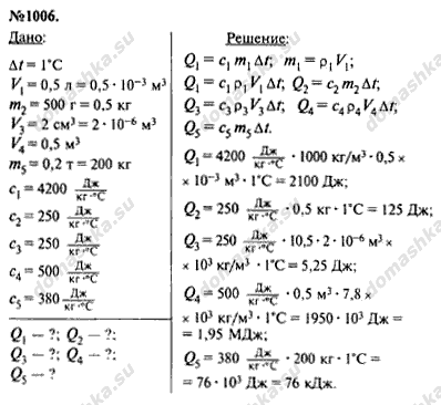 Задачник по физике 7 класс перышкин ответы — pic 5