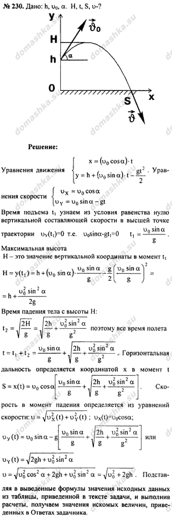 Физика. Задачник 9-11 класса (Рымкевич А.П.)