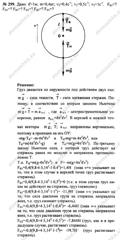 Гдз задачник по физике 9-11 класс рымкевич