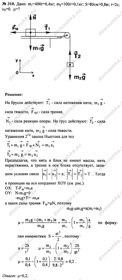 Гдз по Физике Дрофа Задачник