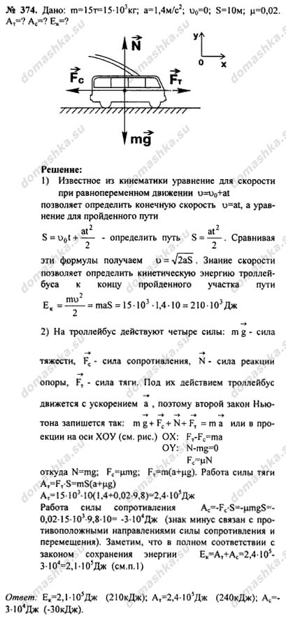 Гдз сборник задач по физике 9-11 класс
