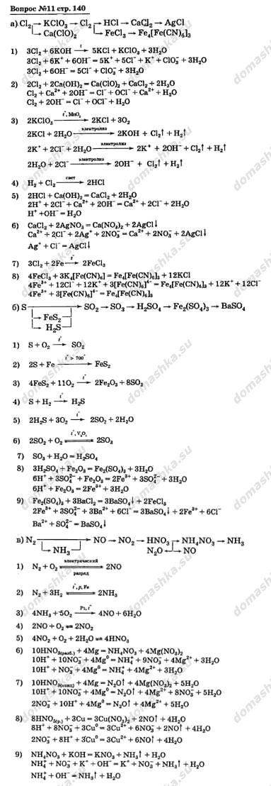 Гдз по химии 10 классмаскаев