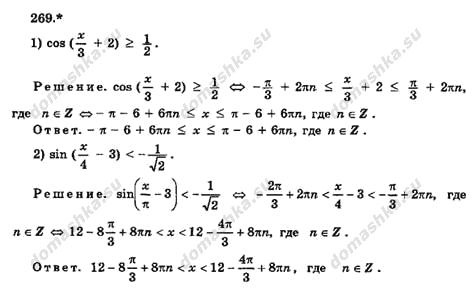 ГДЗ по алгебре 8 класс Алимов 1999