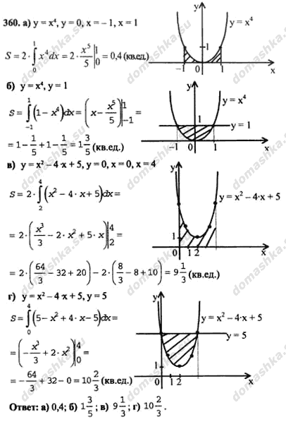 решебник по алгебре абрамов 10-11 класс