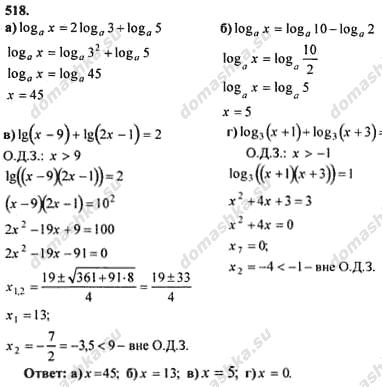 Гдз по алгебре 11кл колмогоров