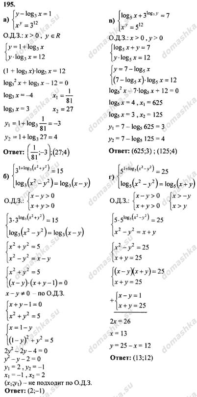 Гдз по учебнику алгебра и начала анализа 10-11 класс а.н.колмогоров