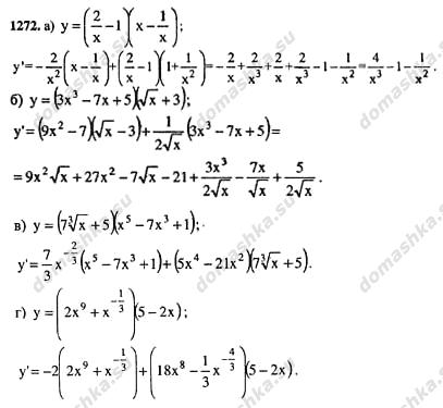 Решебник дидактические материалы по алгебре 11 класс Ивлев Б.М., Саакян С.М.